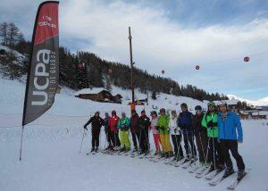 اسکی بازان قزوین و تهران در آلپ فرانسه