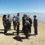 گزارش تصویری از بازدید مدیران و مسئولین ارشد استان قزوین و فدراسیون اسکی از پیست اسکی کامان قزوین