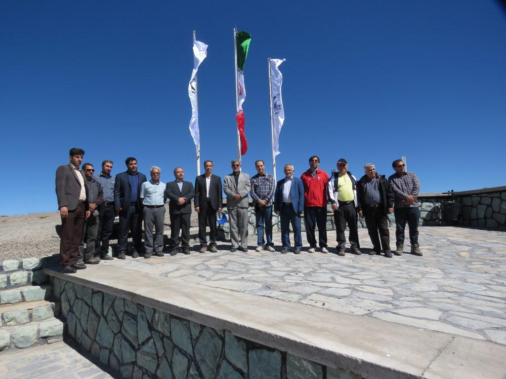بازدید مدیران و مسئولین ارشد استان قزوین و فدراسیون اسکی از پیست اسکی کامان قزوین