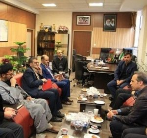 دیدار با سرپرست جدید اداره کل ورزش و جوانان استان قزوین
